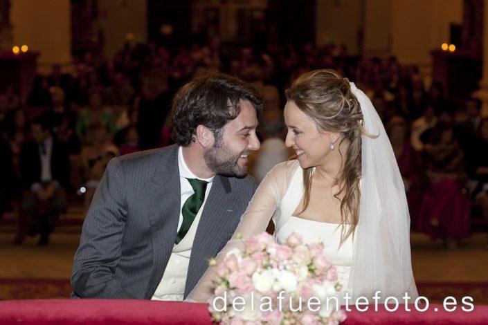 Foto de la boda de Gema en un momento espontaneo