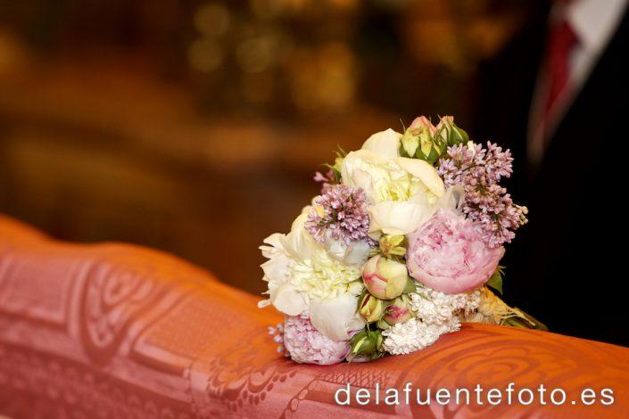 Detalle del ramo de la novia