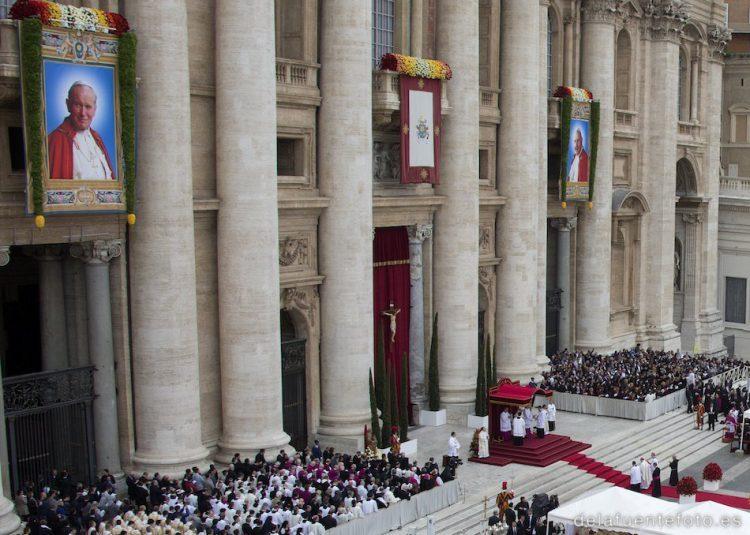 Roma: Canonizaciones de Juan XXIII y Juan Pablo II