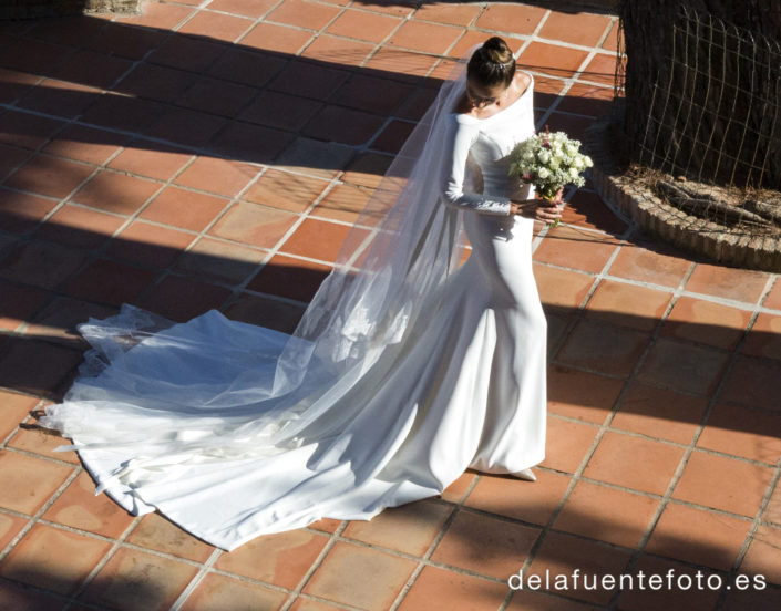Traje de la novia