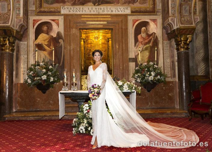 novia altar