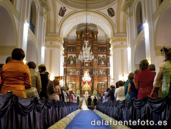 Boda en Córdoba. Basílica Menor de San Juan de Ávila, Montilla. De la fuente Fotografía