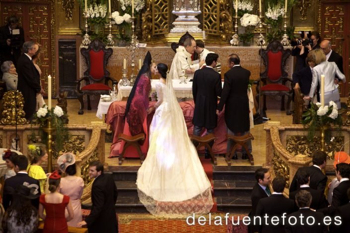Paz entre novia y madrina y novio y padrino