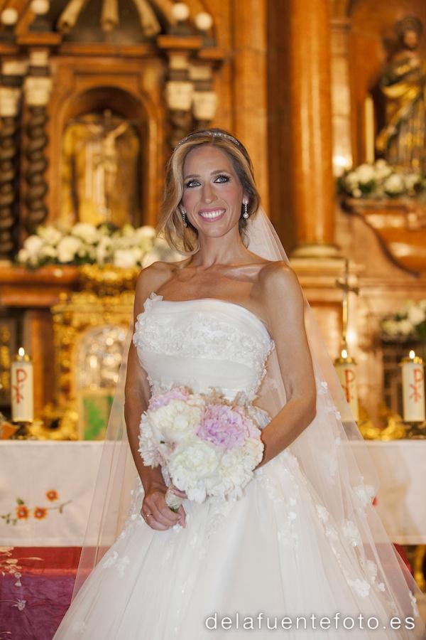 Foto de la novia en el altar