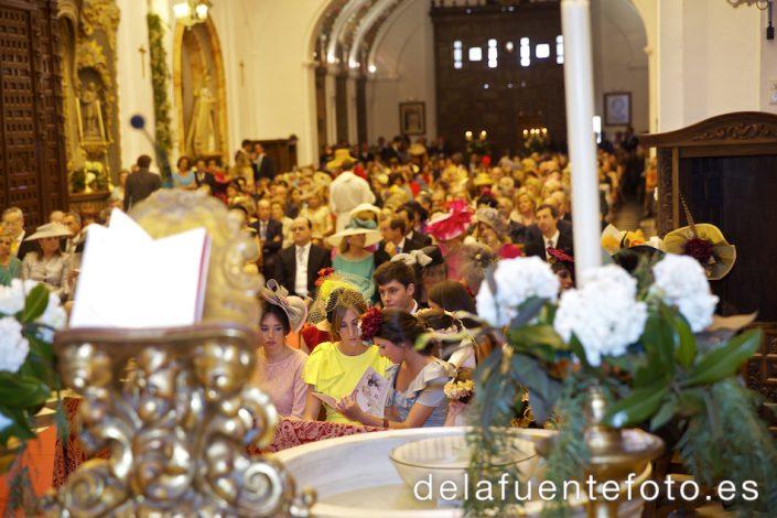 Foto de una parte de los invitados