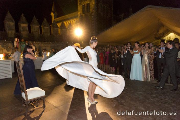 Vuelo del vestido de novia