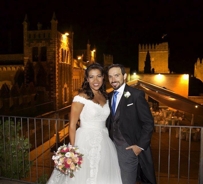 Boda de Esther y Maximo en el Castillo